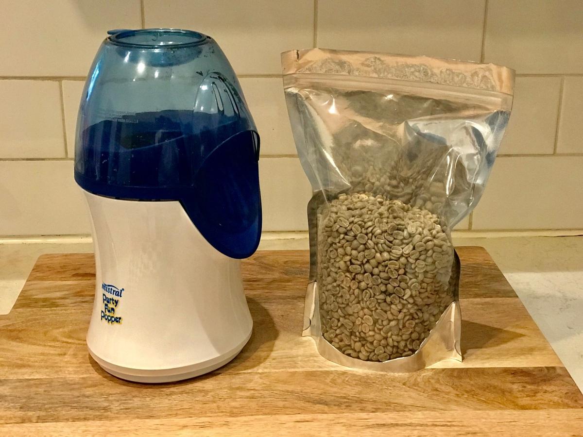 Coffee Roasting in a PopcornPopper